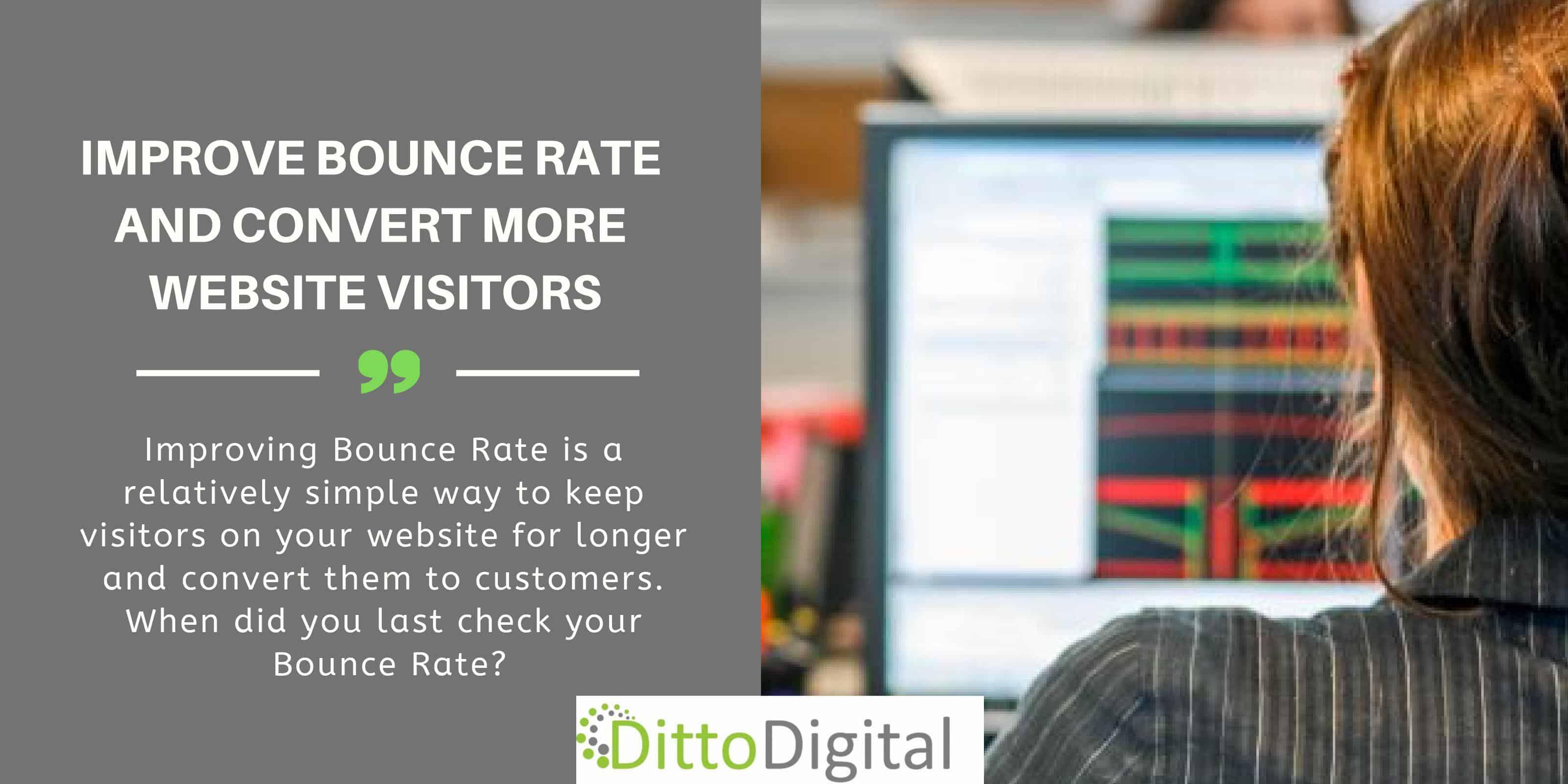 LinkedIn Post - Improve Bounce Rate - DittoDigital